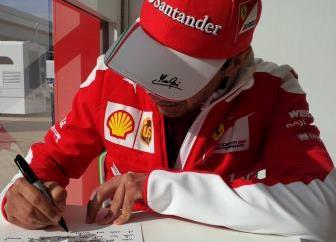 Mark Gene, Ferrari F1 Test Driver